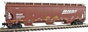 Intermountain Trinity 5161 Cubic Foot Covered HopperBNSF Railway N Scale Model Train Freight Car #67207