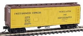 Intermountain Fruit Growers Express Wood Refrigerator Car N Scale Model Train Freight Car #67706