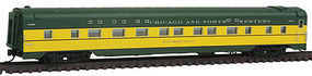 Intermountain PS 4-4-2 Sleeper Chicago & North Western N Scale Model Train Passenger Car #6810