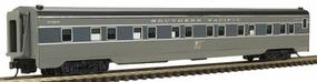 Intermountain Pullman-Standard 13 Double Bedroom - Assembled Centralia Car Shops Model Southern Pacific Lark (two-tone gray) - N-Scale