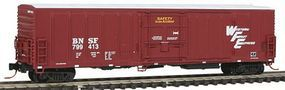 Intermountain R-70-20 Mechanical Reefer BNSF/ WFE N Scale Model Train Freight Car #68806