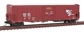 Intermountain R-70-20 Mechanical Reefer BNSF/ WFE N Scale Model Train Freight Car #68811
