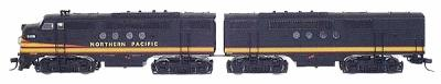 Intermountain Regal Line EMD FT A-B Set Northern Pacific N Scale Model Train Diesel Locomotive #69010