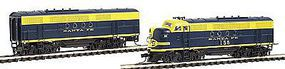 Intermountain FT A-B Set ATSF Cigar N Scale Model Train Diesel Locomotive #69013d