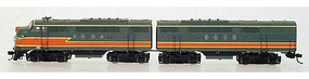 Intermountain FT A-B Set MILW gry w/snd - N-Scale