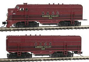 Intermountain FT A-B Set Lehigh Valley N Scale Model Train Diesel Locomotive #69020d
