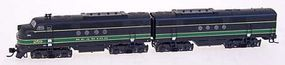 Intermountain EMD FT A-B Set - Standard DC - Reading N Scale Model Train Diesel Locomotive #69023