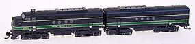 Intermountain FT A/B Set DCC Reading N Scale Model Train Diesel Locomotive #69023d