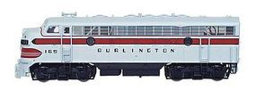 Intermountain EMD F7A Phase II Chicago, Burlington & Quincy N Scale Model Train Diesel Locomotive #69207