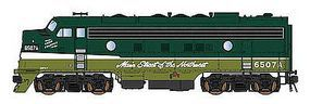 Intermountain F7A DCC NP Loewy - N-Scale