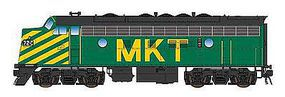 Intermountain F7A DCC MKT green - N-Scale