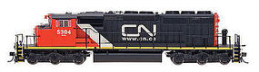 Intermountain SD40-2W DCC CN.CA - N-Scale