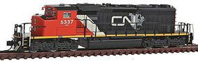 Intermountain SD40-2W DCC CN Map - N-Scale