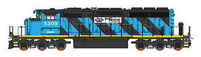Intermountain SD40-2W DC Dsl Electric N Scale Model Train Diesel Locomotive #69309