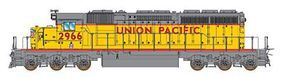 Intermountain EMD SD40-2 - Standard DC - Union Pacific N Scale Model Train Diesel Locomotive #69327