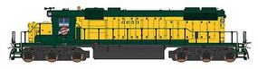Intermountain EMD SD38-2 - Standard DC Chicago & North Western (yellow, green) - N-Scale