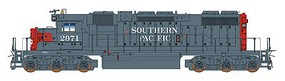 Intermountain EMD SD38-2 w/LokSound & DCC Southern Pacific (gray, red) - N-Scale