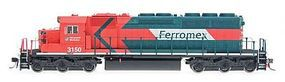 Intermountain EMD SD40-2 DC Ferromex (orange, green, white) N Scale Model Train Diesel Locomotive #69330