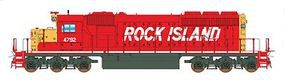 Intermountain EMD SD40-2 No Dynamic Brakes DC Rock Island N Scale Model Train Diesel Locomotive #69345