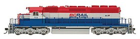 Intermountain SD40-2 DCC BC Rail - N-Scale