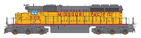 Intermountain SD40-2 DC UP/MP - N-Scale