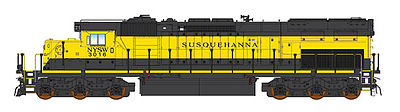 Intermountain SD40T-2 tunnel Powered RTR NYS&W N Scale Model Train Diesel Locomotive #69410