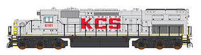 Intermountain SD40T-2 DC Kansas City Southern N Scale Model Train Diesel Locomotive #69426