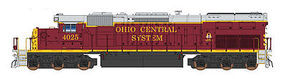 Intermountain SD40T-2 DC Ohio Central N Scale Model Train Diesel Locomotive #69428