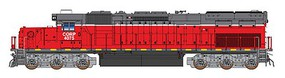 Intermountain SD40T-2 DCC CORP - N-Scale