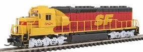 Intermountain EMD SD45-2 - Standard DC - Santa Fe N Scale Model Train Diesel Locomotive #69568