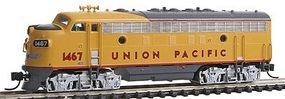 Intermountain EMD F7B - Standard DC - Union Pacific N Scale Model Train Diesel Locomotive #69703