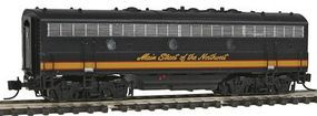 Intermountain EMD F7B - Standard DC - Northern Pacific N Scale Model Train Diesel Locomotive #69714
