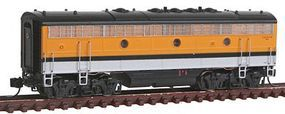 Intermountain EMD F7B DC Denver & Rio Grande Western N Scale Model Train Diesel Locomotive #69742