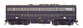 Intermountain FP7B without Sound Powered Pennsylvania RR N Scale Model Train Diesel Locomotive #69743