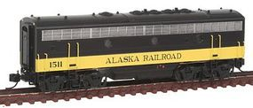 Intermountain F7 B Unit Alaska - N-Scale