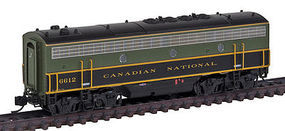 Intermountain FP9B without Sound Canadian National N Scale Model Train Diesel Locomotive #69787