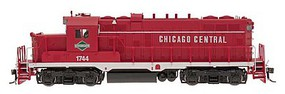 Intermountain Paducah GP10 - Standard DC Chicago Central (red, white, green)