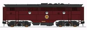 Intermountain EMD F3B - Standard DC - Chicago Great Western N Scale Model Train Diesel Locomotive #69834