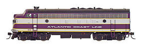 Intermountain FP7 without Sound Atlantic Coast Line N Scale Model Train Diesel Locomotive #69927