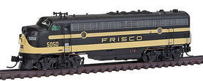 Intermountain FP7 without Sound SLSF Frisco N Scale Model Train Diesel Locomotive #69945