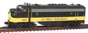 Intermountain EMD FP7 Phase I - Standard DC - Alaska Railroad N Scale Model Train Diesel Locomotive #69951