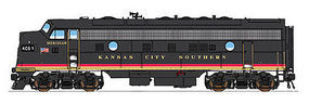 Intermountain FP9 DC Kansas City Southern black N Scale Model Train Diesel Locomotive #69978
