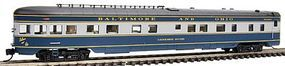 Intermountain 2-1-1 Observation-Buffet-Lounge Baltimore & Ohio N Scale Model Train Passenger Car #7502