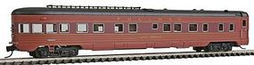 Intermountain 2-1-1 Observation-Buffet-Lounge Pennsylvania Railroad N Scale Model Train Passenger Car #7508