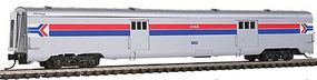 Intermountain Streamlined Smooth-Side Baggage Car Amtrak N Scale Model Train Passenger Car #7650