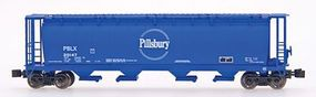 Intermountain Cylndrcl Hopper Pillsbury - Z-Scale