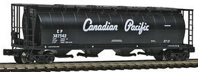 Intermountain 59 4-Bay Cylindrical Covered Hopper Canadian Pacific Z Scale Model Train Freight Car #85212