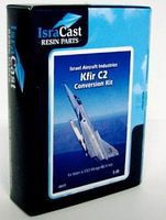 Isradecal IAF Kfir C2 Conversion Kit for Mirage IIIE/V Plastic Model Aircraft Accessory 1/48 #48019
