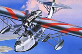 Italeri Cant Z 501 Italian Flying Boat Aircraft Plastic Model Airplane Kit 1/72 Scale #0112