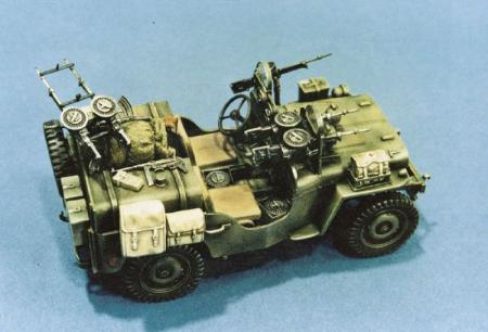 Italeri 1-35 COMMANDO CAR